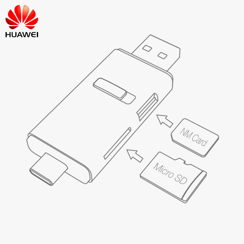 Image 5 - Huawei NM Card 100% Original 90MB/s 64GB/128GB/256GB Apply to Mate20 Pro Mate20 X P30 With USB 3.1 Nano Memory Card Reader-in Phone Adapters & Converters from Cellphones & Telecommunications