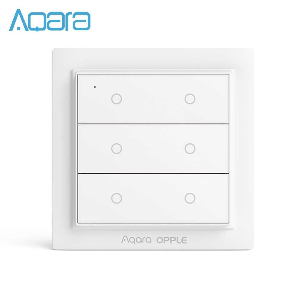 Aqara Opple المشهد التبديل اللاسلكية مفتاح ذكي HomeKit الذكية App التحكم عن بعد الذكية HomeKit الجدار التبديل اثنين أربعة ستة أزرار