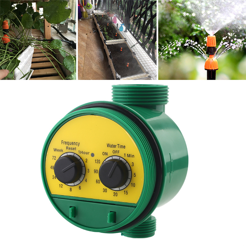 Irrigation-Equipment Timer Water-Pipe Gardener The Home for G3/4-Interface Botany Flower-Beds