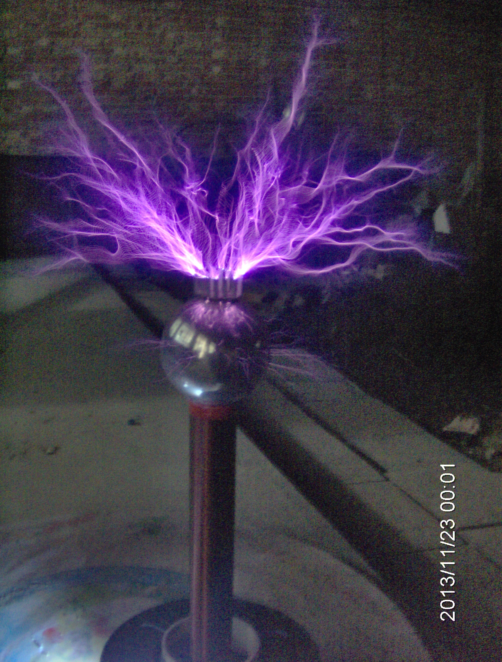 Tesla / Spark Gap Tesla Coil / Lightning DIY Production