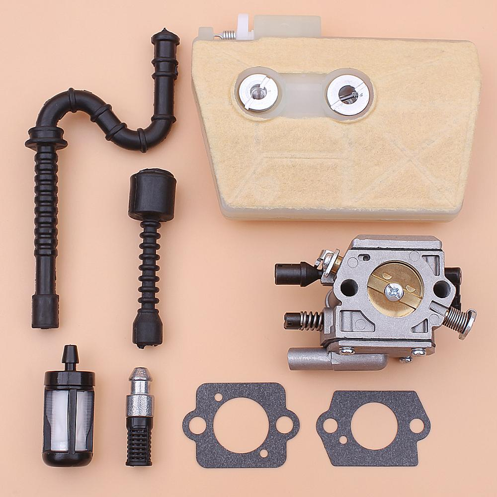 Carburetor Carb For Stihl 038 MS380 MS381 Air Fuel Oil Fitler Line Chainsaw 1119 120 0650 1119 120 1607