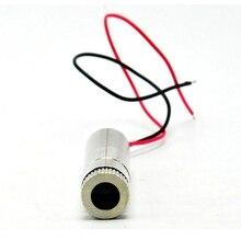 Точка фокусируемый 200 мВт 650 нм красный +лазер диод модуль светодиод свет DC5V 12x40