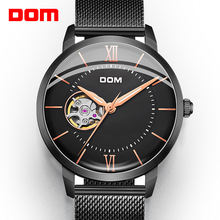Мужские модные часы от бренда dom автоматические механические