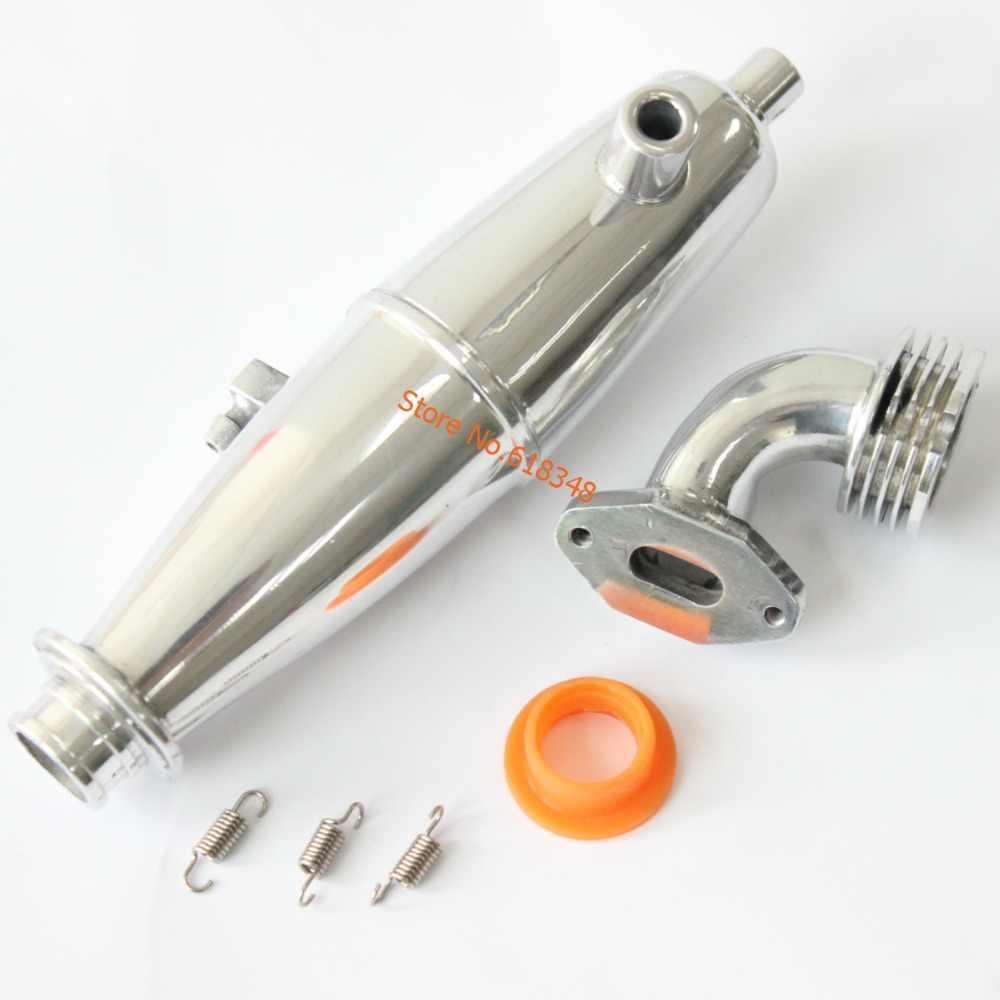 1 Set Dikker Uitlaatpijp & Seal/Springs VX SH Motor 02124 Voor 1: 10th Nitro Auto HSP Baja Onderdelen 102009