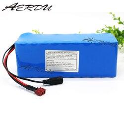 AERDU 36 فولت 10S4P 10Ah 600 واط عالية الطاقة والقدرة 42V18650 بطارية ليثيوم حزمة ebike سيارة كهربائية دراجة سكوتر مزود بمحرك 20A BMS