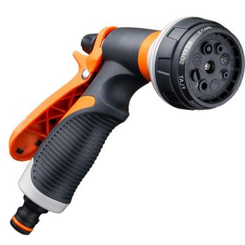 1 Pc dysza do rozpylania wody 8 wzór końcówka zraszająca do węża ogrodowego do myjni samochodowej zwierzęta prysznicowe pistolety natryskowe tanie i dobre opinie CN (pochodzenie) Opryskiwacze