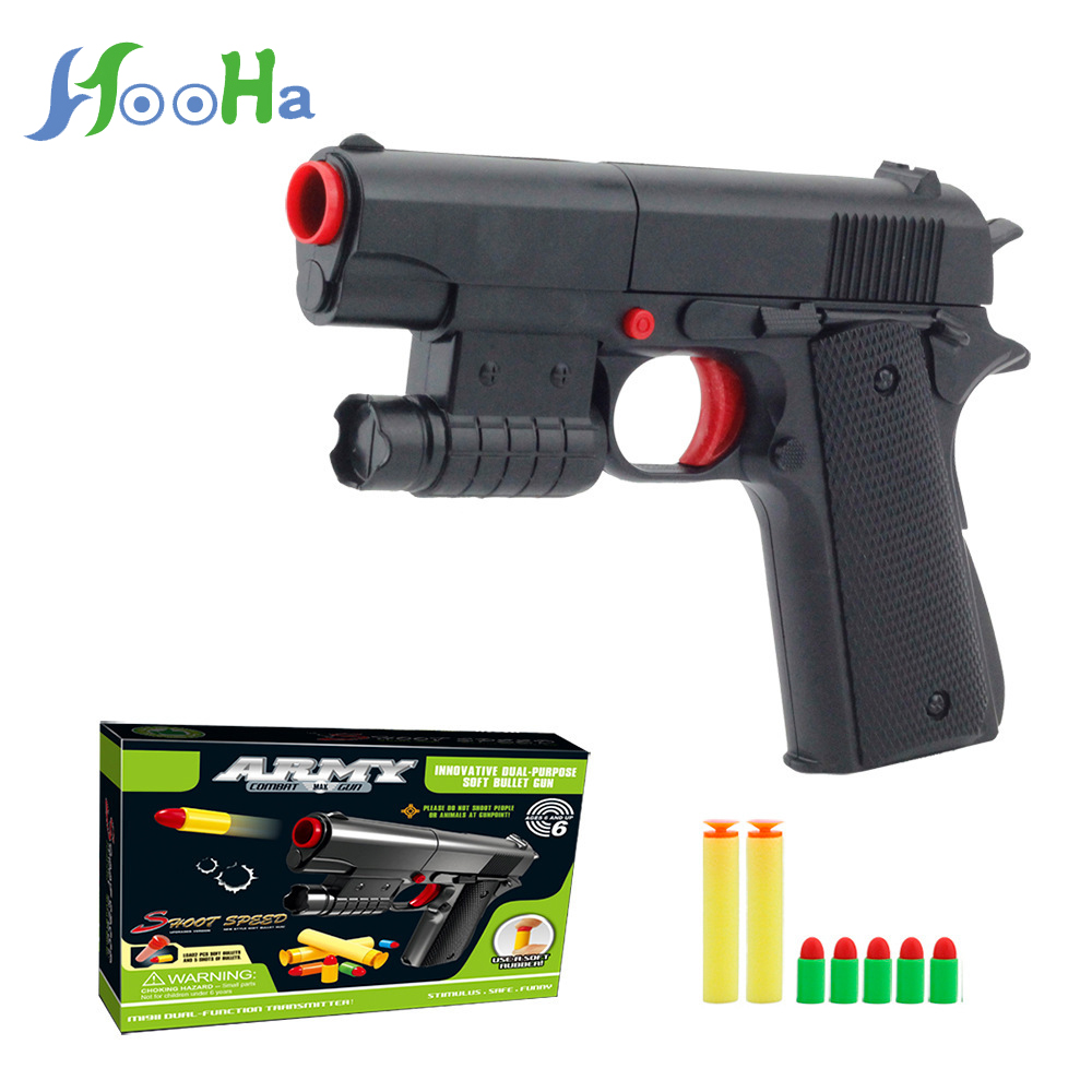 Children's Toy Soft Bullet Gun Can Launch Suction Plate For Boy Toy Pistol Toy Guns For Kids Toys Have A Good Quality
