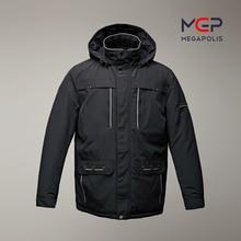 Men's Demi-season fashionable cotton jacket with a collar-stand MGP megapolis