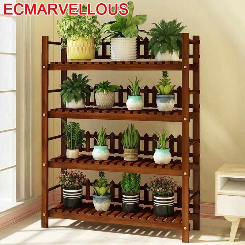 Shelves For Indoor Pot Soporte Plantas Interior Estanteria Para Macetas Stojak Na Kwiaty Rack Balcony Flower Shelf Plant Stand