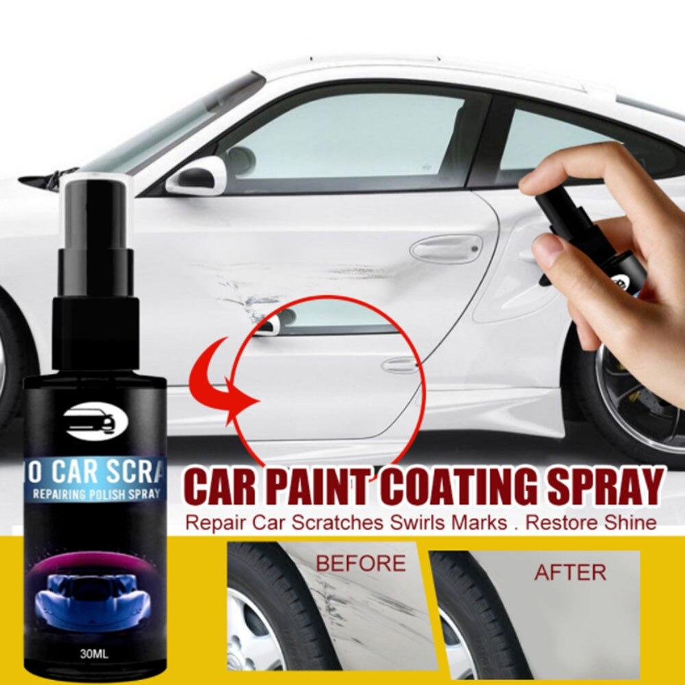 Ремонт царапин автомобиля нано спрей против царапин покрытие авто лак Уход за краской полированное стекло покрытие инструмент для мытья