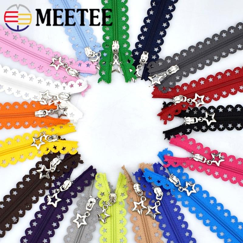 10 / 20db Meetee 3 # 25cm-es vékony több színű nylon csipke cipzár a táskákhoz Pénztárca Szabó Varróruházat Kiegészítők Kézműves