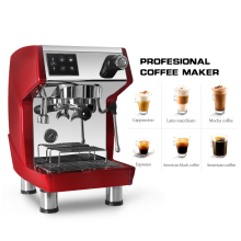 ITOP 15 BAR Commercial Coffee Maker Machine Italian Espresso Semi-automatic Steam Type 1.7L 220V