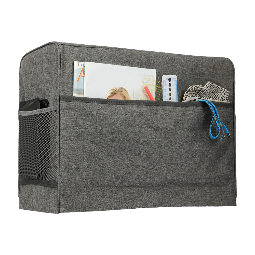Home Sewing Machine Accessories With Pockets Protective Reusable Solid Portable Oxford Cloth Dust Cover Quilted Sun Shade