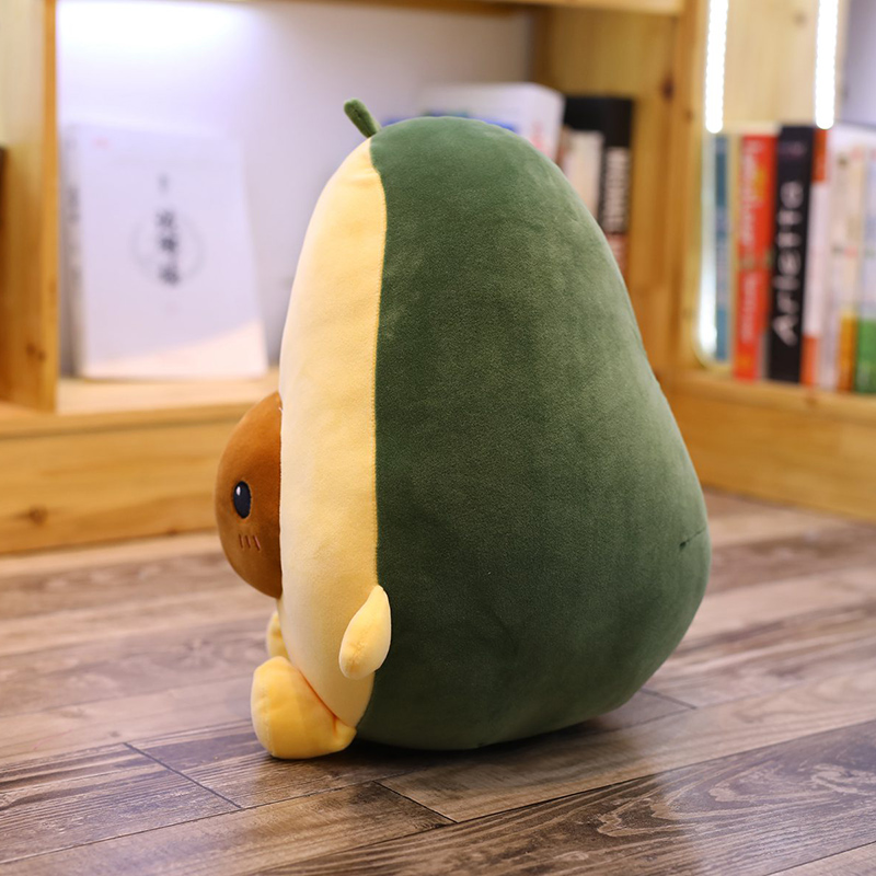 30-60CM Cute Avocado Stuffed Plush Toy Filled Doll Cushion Pillow Child  Christmas Gift Girl Baby Girl Avocado