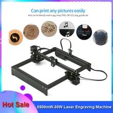 Laser-Engraving-Machine Mark-Printer Off-Line-Control Laser-Logo Woodworking 5500mw-30w