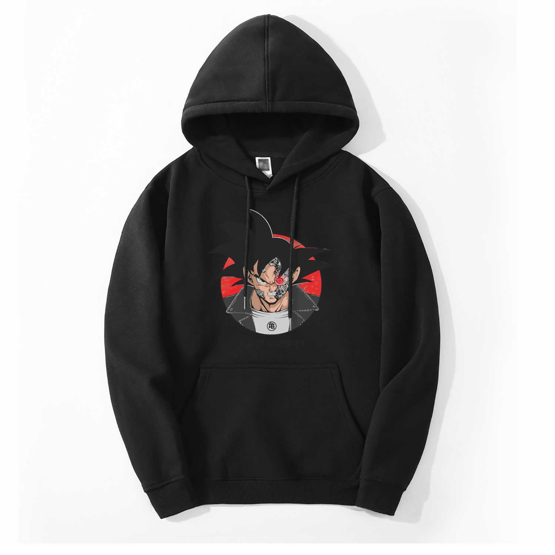 Dragon ball z japão anime moletom masculino 2019 primavera inverno moda quente velo alta qulity harajuku casual hoodie masculino para os fãs