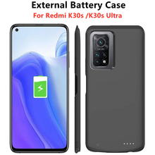 Battery-Charger-Cases Powerbank-Case Charging-Cover Xiaomi Redmi 6800mah for K30s 5G