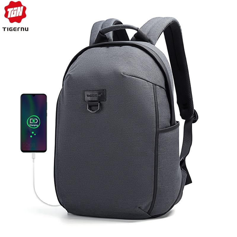 Tigernu 15.6 Inch Laptop Backpack Man Bag Pack High Quality Waterproof Bag Backpack For Computer Multilayer Space Tavel Mochila