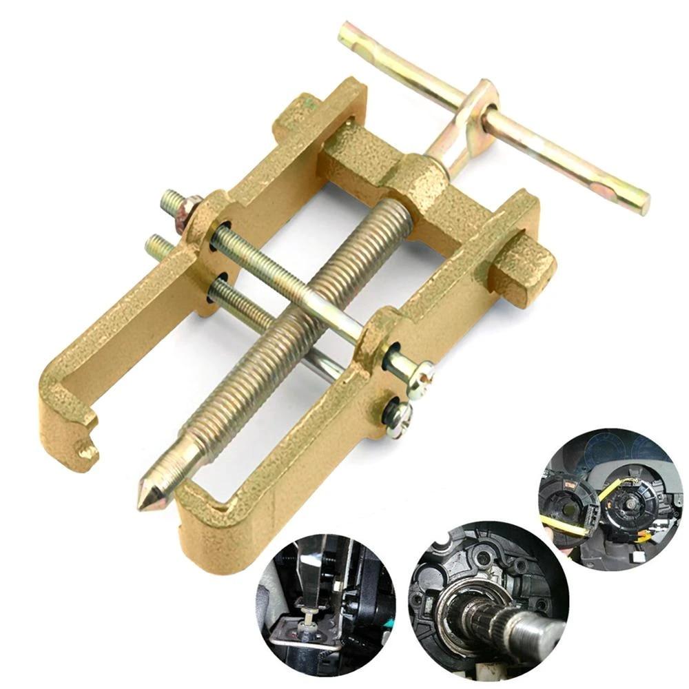 3 Inch 2 Jaw Gear Puller Mechanic Bearing Steering Wheel Remover Extractor Tool Bearing Puller Roller Extractor Repair Tools