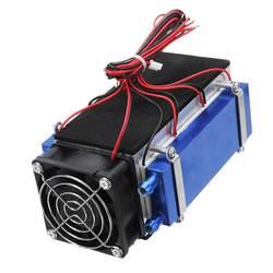 DIY 12V 420W 6-Chip Semiconductor Dispositivo de refrigeración enfriador termoeléctrico aire acondicionado alta eficiencia de refrigeración