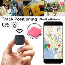 Localizzatore GPS per auto quadrato Mini localizzatore portatile Smart Bluetooth Tracker in tempo reale per bambini/anziani/veicoli/bambini/animali domestici/cani