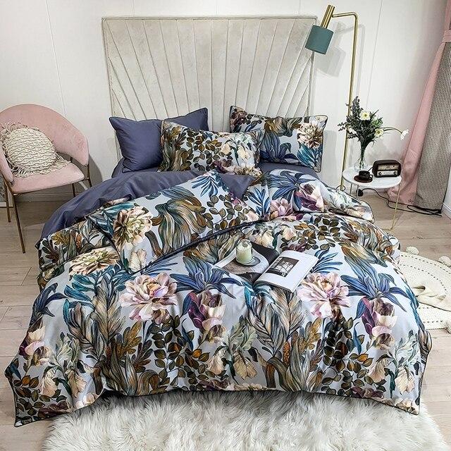 Egyptian Cotton Soft Bedding Set 5 Pcs 1