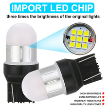 Light Bulb 2pcs Car LED signal light Turn Signal  Red T20/7440/W21W/WY21W SRCK 9SMD Backup Reverse