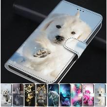 Coque pour Huawei Y5P Y6P Y7P Mate 20 Lite P40 P30 Pro P Smart Honor 8A 8C 8X 8S 7X, pour enfants, Capa chien chat Lion loup 10 P20 E D08F