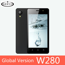 SERVO Smartphone W280 Quad Core 2800mAh Android 7.0 cellphone GPS 4.5