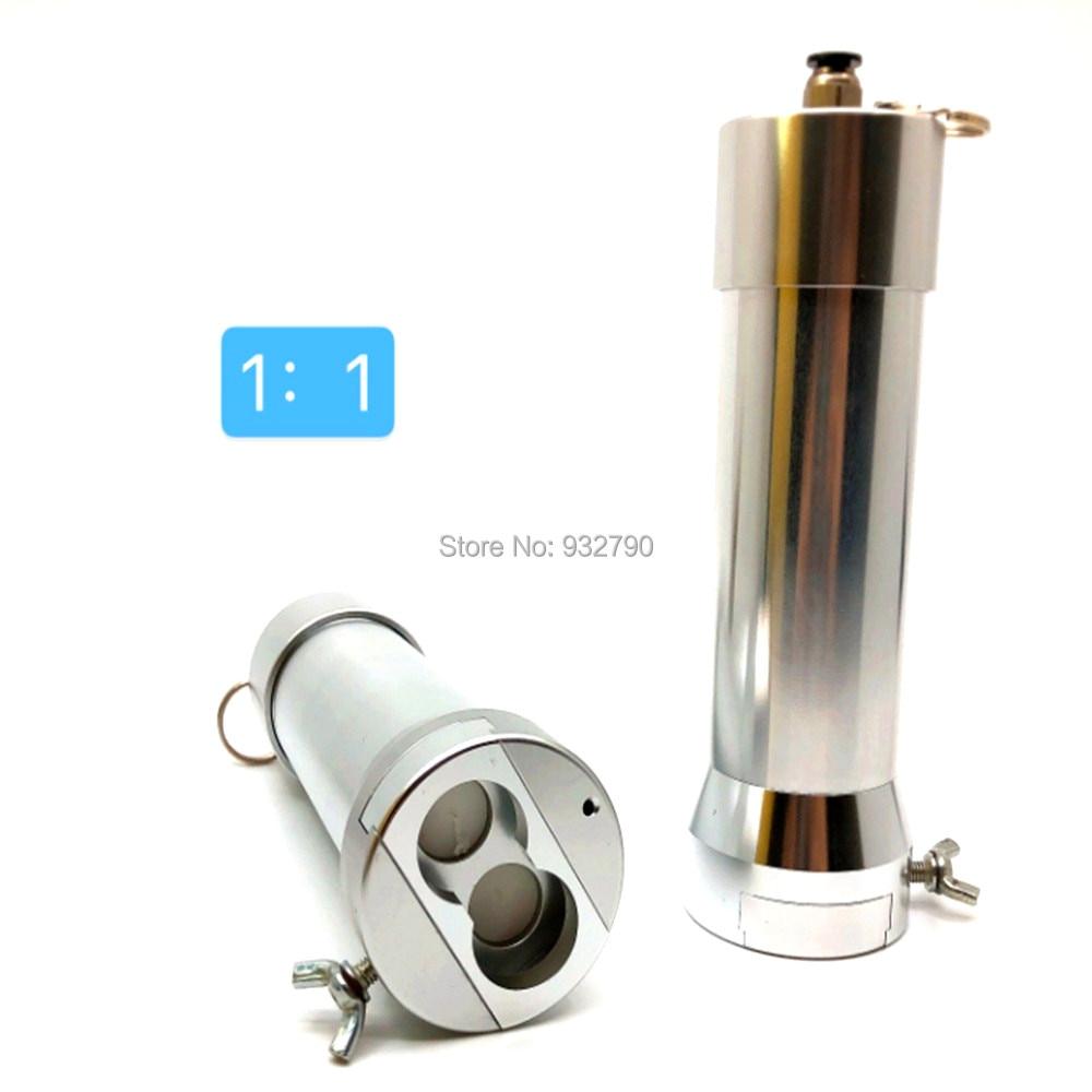 1:1 50ml Pneumatic Caulking Gun Air AB Glue Gun For 2-Part AB Glue Epoxy Resin Acrylic Adhesive Silicone Sealant