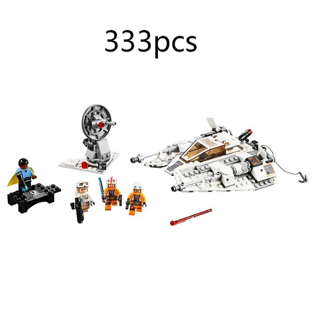 Nowa seria gwiezdnych wojen Snowspeeder 20th edycja rocznicowa kompatybilny Star Wars 75259 klocki budowlane dla dzieci prezent urodzinowy tanie i dobre opinie Unisex 3 lat Mały budynek blok (kompatybilne z Lego) Certyfikat 9123453643 157565651252 no eat Z tworzywa sztucznego