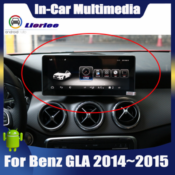 Android display For Mercedes Benz GLA Class X156 2014 2015 HD screen Car GPS Navigation stereo radio multimedia player CD DVD