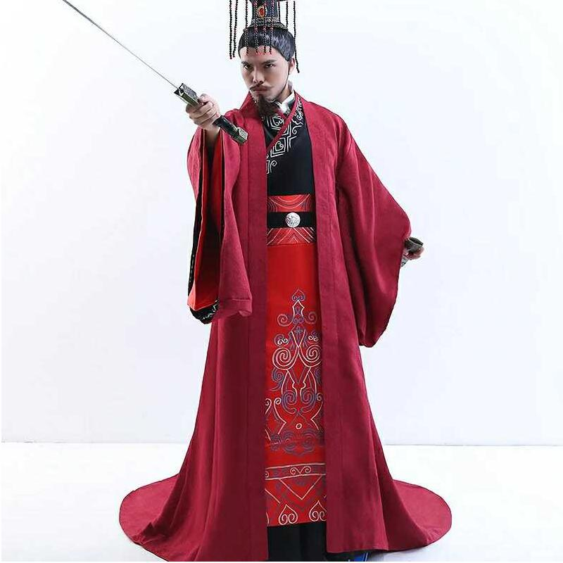 Emperor Minister Military Division Prime Minister Warring States  Three Kingdoms Official Han Performance Costume Cotton Formal