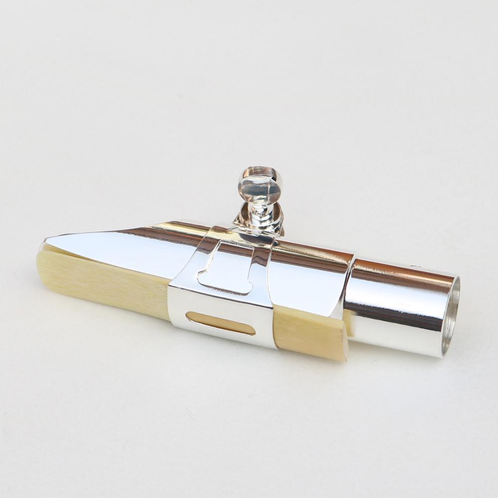 MFC professionnel ténor Soprano Alto Saxophone métal embout argent plaqué embout Sax bouche pièces taille 56789