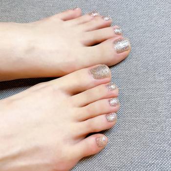 24 sztuk paznokci łatka typu klej wymienny krótki akapit moda Manicure fałszywe zaoszczędzić czas paznokcie łatka paznokcie Accesorios tanie i dobre opinie Stookits CN (pochodzenie) Palec False nails Z tworzywa sztucznego Sztuczne paznokcie Pełne końcówki paznokci Easy to use