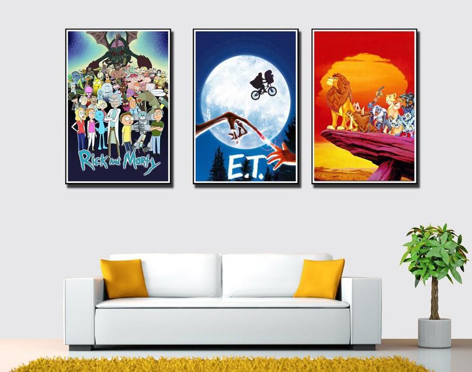 Swamp Thing Poster DC Comics TV Series Art Silk Canvas Poster Print 24x36/'/'