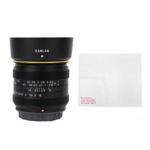 Image 3 - Kamlan 21mm F1.8 Portable Waterproof Mirrorless Camera Manual Fix Focus Prime Lens for Fuji FX/ M4/3  Manual Focus Lens