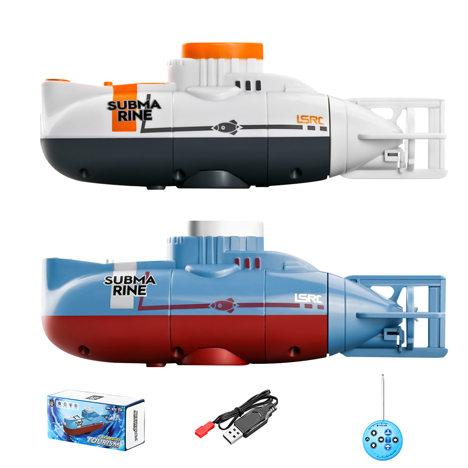Mini Rc Submarine Remote Control Impermeable Submarino Model Toy RC Racing Boat Electric Toys Boats Radio Controlled