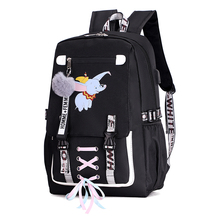 Large school bags for teenage girls usb with lock Anti theft backpack women Book bag big High School youth Leisure College