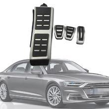 цена на Fuel Brake Footrest Pedals Fit For Audi A4 B8 S4 RS4 Q3 A5 S5 RS5 8T Q5 8R SQ5 A6 C7 A7 S7 S6 4G A8 S8 4H Accessories