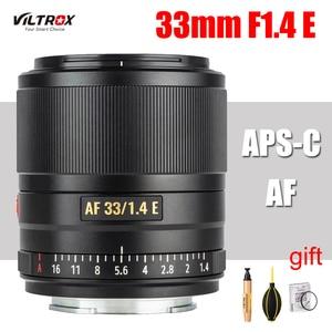 Image 1 - VILTROX 33mm f1.4 E Large Aperture Lens APS C Auto Focus lens for Sony E mount A9 A7RIV A7RIII A7II A7S A6600 A6500 Camera