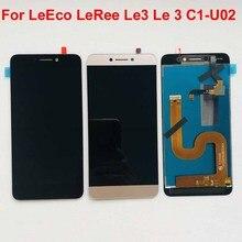 Original lcd para leeco letv leree le3 le 3 C1 U02 versão global display lcd + tela de toque digitador assembléia substituição