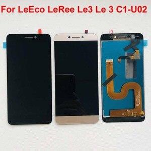 Image 1 - Orijinal lcd için LeEco Letv LeRee Le3 Le 3 C1 U02 küresel sürüm lcd ekran + dokunmatik ekranlı sayısallaştırıcı grup değiştirme