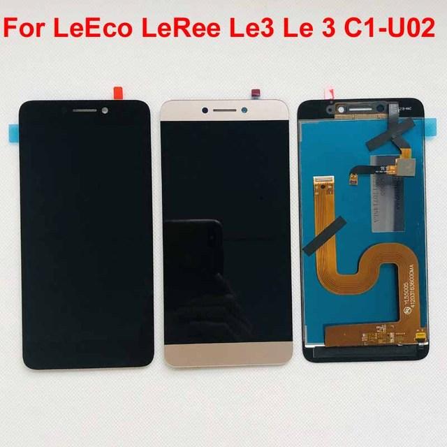 Orijinal lcd için LeEco Letv LeRee Le3 Le 3 C1 U02 küresel sürüm lcd ekran + dokunmatik ekranlı sayısallaştırıcı grup değiştirme