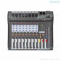 Comparar https://ae01.alicdn.com/kf/H22a6dfd58e544e7fa72487c16137939dQ/Mezclador de Audio MiCWL micrófono de 8 canales consola mezcladora de sonido Bluetooth con DSP USB.jpg