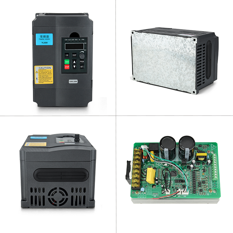 Image 2 - 2.2KW 220V VFD Inverter 3KW 4KW 5.5KW 7.5KW Frequency Inverter Converter 1P input 3P Output 220V For CNC Spindle motor-in Inverters & Converters from Home Improvement