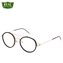 REAL Fashion Ultralight AcetateOptical Glasses Men Women Glasses Frames Students Myopic Glasses Read Glasses Prescription Unisex cheap Eyewear Accessories Solid 2318 Fashion Retro Black Green Camel Wenzhou China Man Woman unisex Round Electroplate 1-5Days