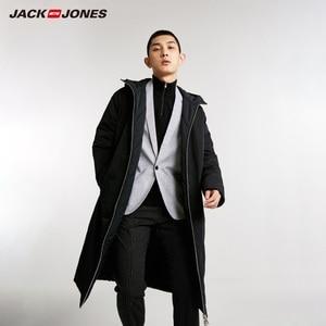 Image 3 - JackJones ผู้ชาย REVERSIBLE เสื้อคลุมยาวเสื้อแจ็คเก็ตบุรุษ 218409505