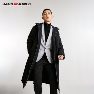 Image 3 - Jackjones 남자의 뒤집을 후드 파카 코트 긴 패딩 자켓 남성복 218409505