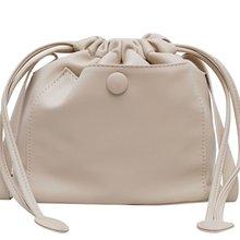 Fashion Bucket Shoulder Bag Women Drawstring Crossbody Female Messenger Bags Ladies Synthetic Leather Handbag  Trendy bag